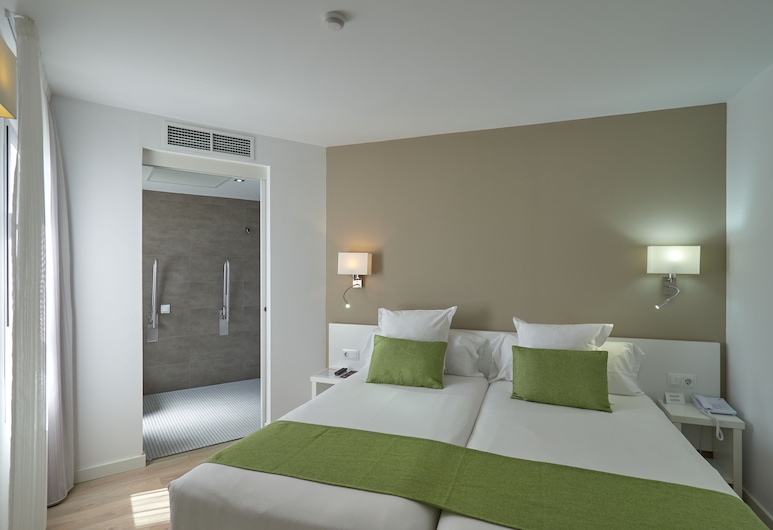 BQ Amfora Beach Hotel - Adults Only, Playa de Palma, Kahetuba, rõduga, Tuba