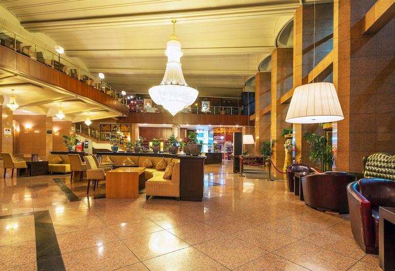 Hotel Kazakhstan, Almaty, Lobby Sitting Area