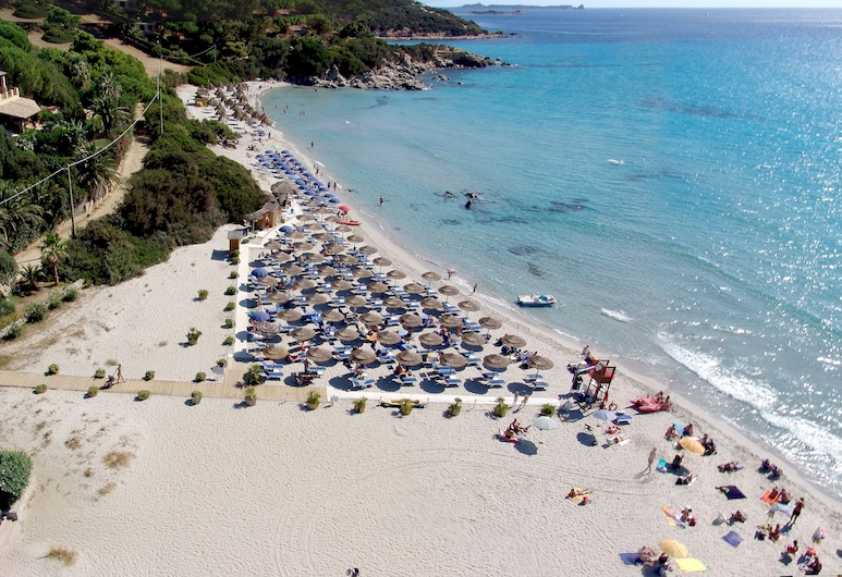 Hotel Simius Playa, Villasimius, Plaża