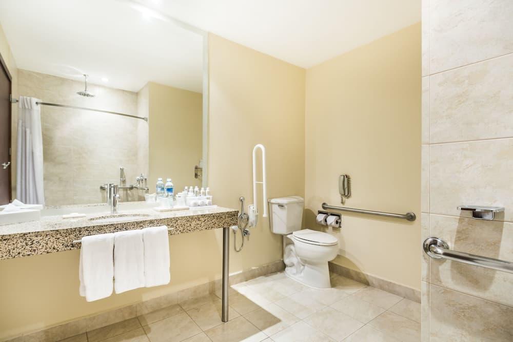 Standardværelse - 1 kingsize-seng - handicapvenligt - Badeværelse