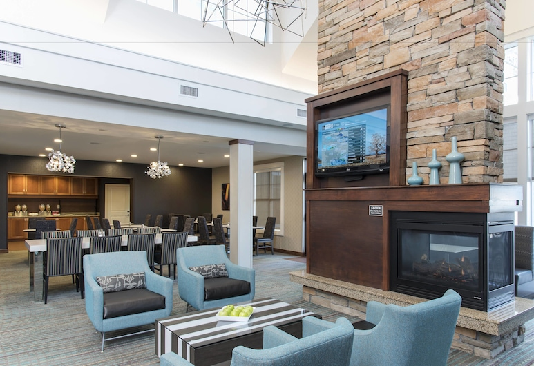 Residence Inn Marriott Moline, Moline, Vstupní hala