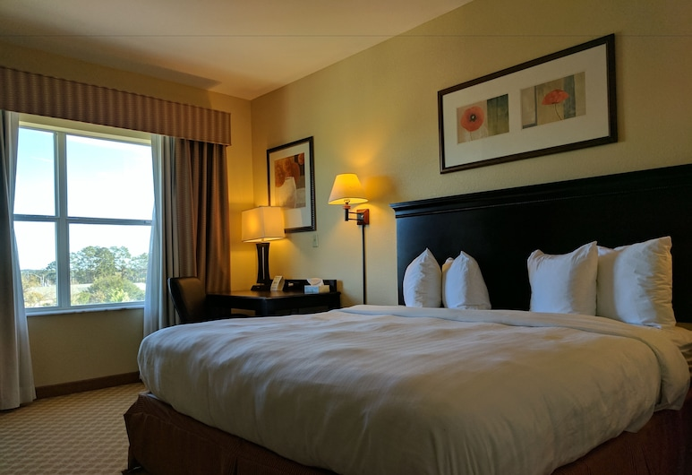 Country Inn & Suites by Radisson, Tallahassee Northwest I-10, FL, Tallahassee, Chambre, 1 très grand lit, non-fumeurs, Chambre
