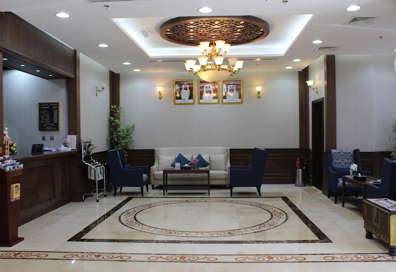 阿爾達爾米娜酒店, 阿布達比, 入口