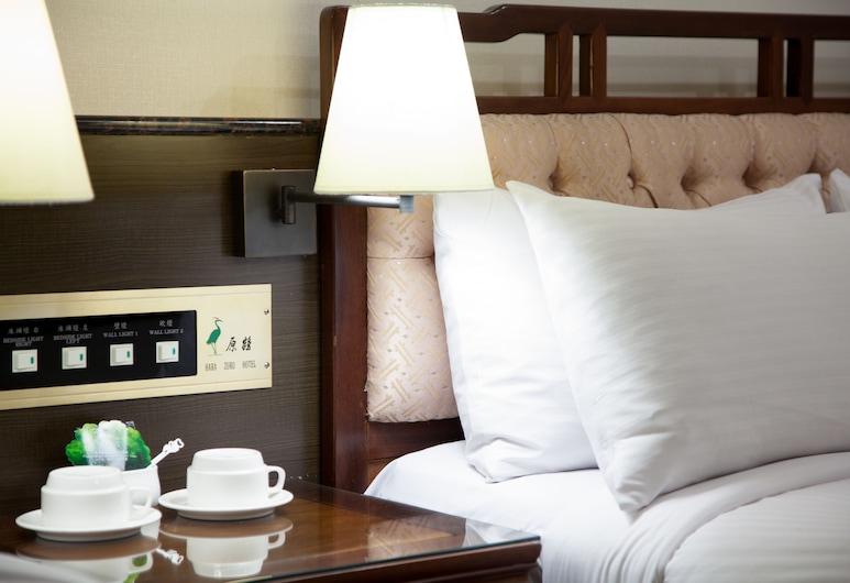 Harazuru Hotel, Taoyuan City, Family Room, 2 Double Beds, Garden View, Guest Room