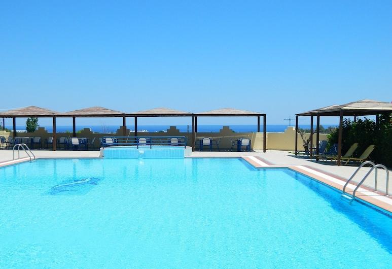 Telhinis Hotel, Rodas, Alberca al aire libre