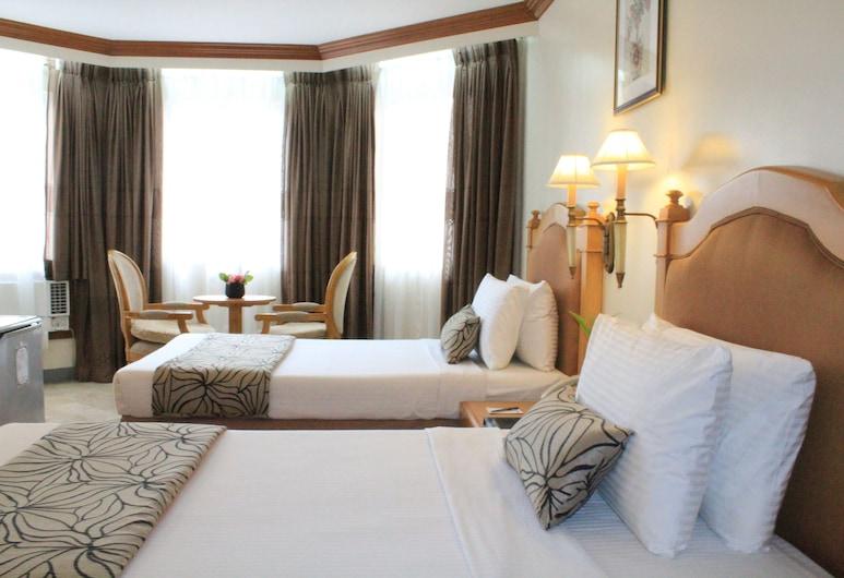 팜 그로브 호텔, 마닐라, 디럭스 트윈룸, 객실