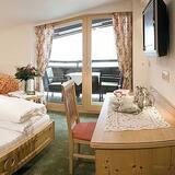 Tweepersoonskamer, Balkon, uitzicht op bergen - Badkamer