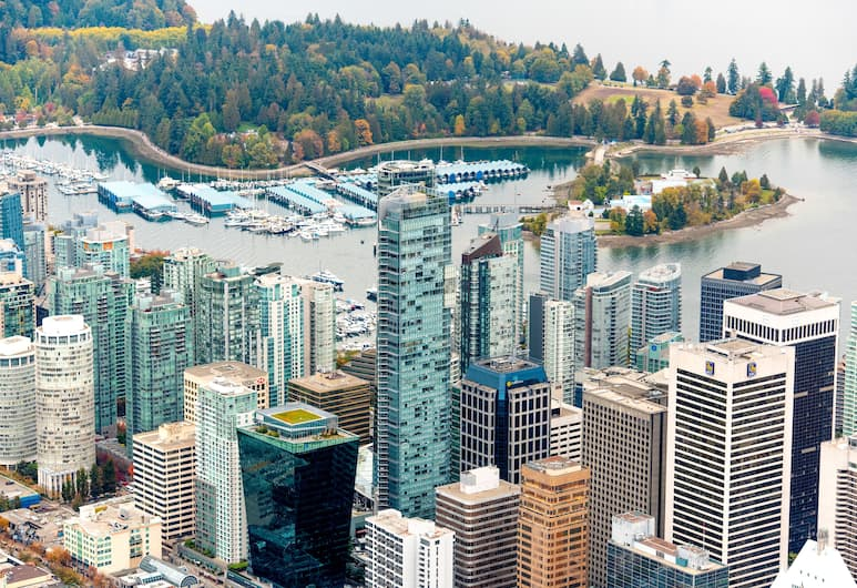Shangri-La Hotel, Vancouver, Vancouver, Property Grounds