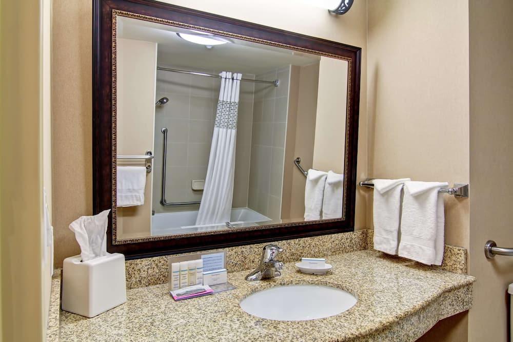 一張大床 (禁止吸煙) - 浴室