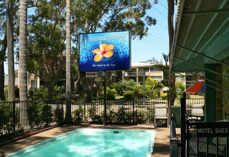 Port Stephens Motel, Nelson Bay, Outdoor Pool