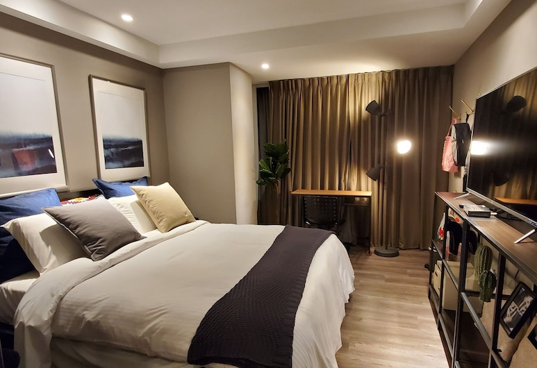 Yomi Hotel - MRT Shuanglian Station, Taipei, Superior Room, 1 Double Bed, Guest Room