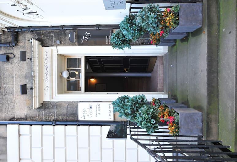 No. 53 Frederick Street, Edinburgas, Įėjimas į viešbutį