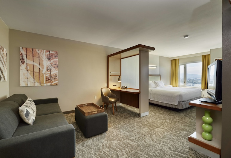 SpringHill Suites by Marriott Las Vegas Convention Center, Las Vegas, Suite, 1 King Bed, Non Smoking, Guest Room