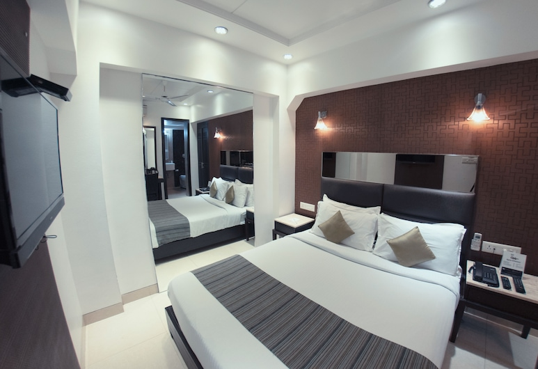 Hotel Manama, Mumbai, Deluxe Double or Twin Room, Guest Room