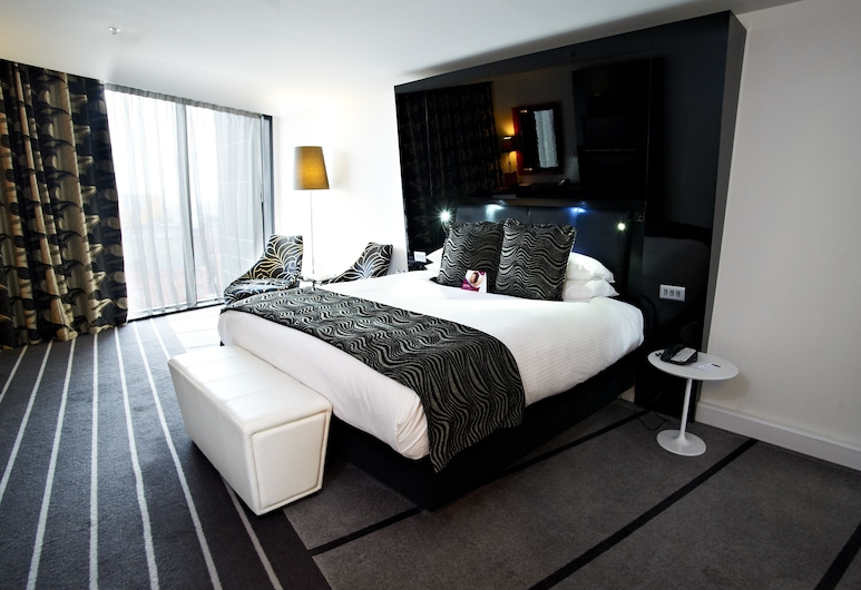 Crowne Plaza Hotel Manchester City Centre, Manchester, Club Room, 1 King Bed, Non Smoking (Deluxe), Guest Room