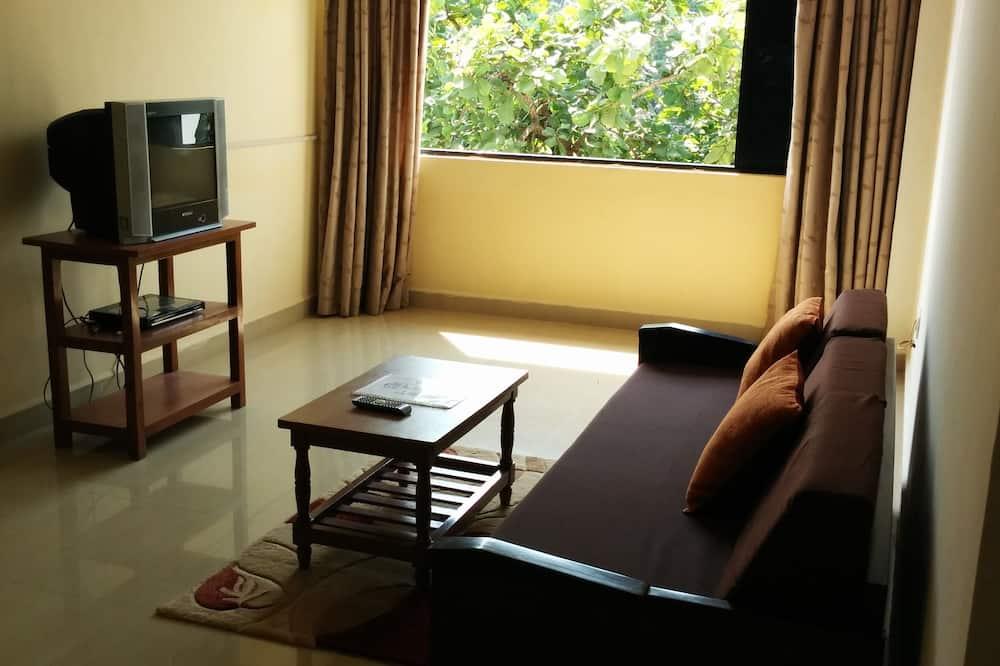 Deluxe-Doppelzimmer, mit Bad - Wohnzimmer