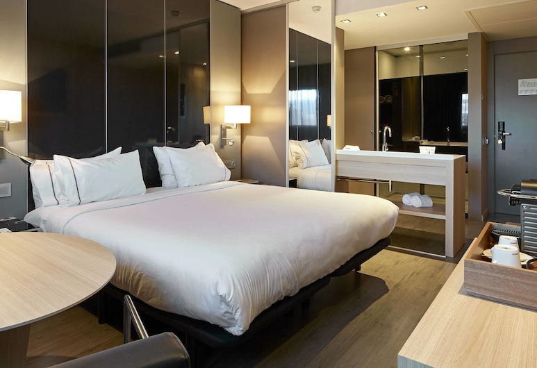 AC Hotel Sants by Marriott, Barcelone, Chambre Standard, 1 très grand lit, non-fumeurs, Chambre