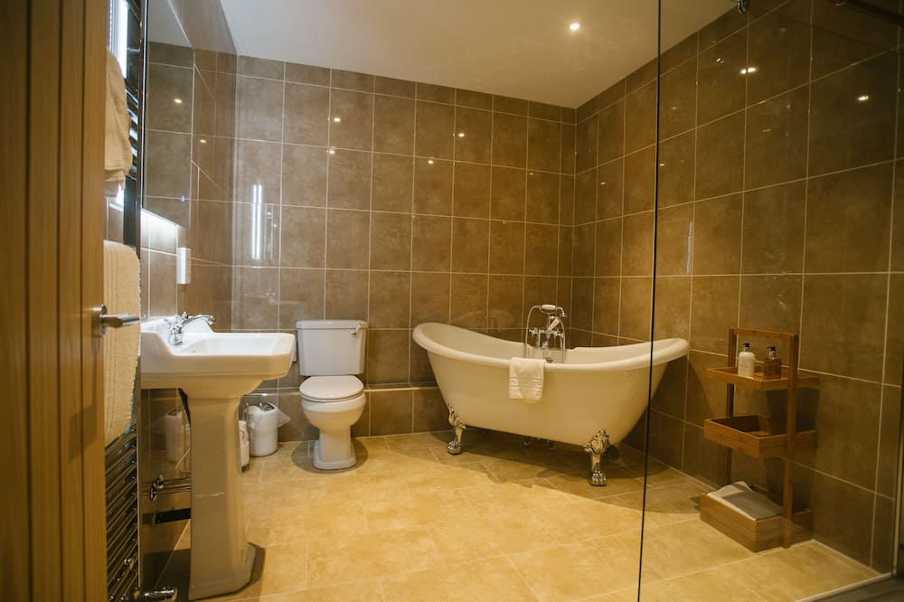 Luxusný apartmán, vlastná kúpeľňa - Kúpeľňa