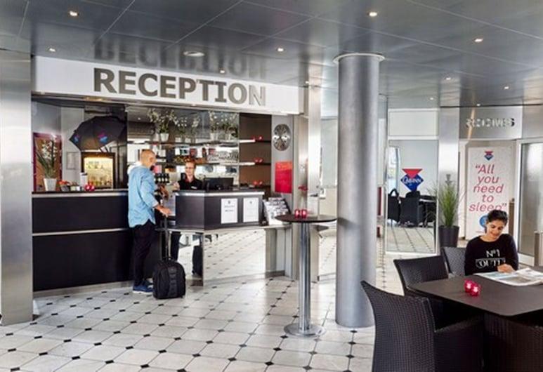 CABINN Express Hotel, Frederiksberg, Reception