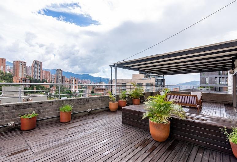 Cyan Suites, Μεντεγίν, Premium Διαμέρισμα, 2 Υπνοδωμάτια, Αίθριο/βεράντα