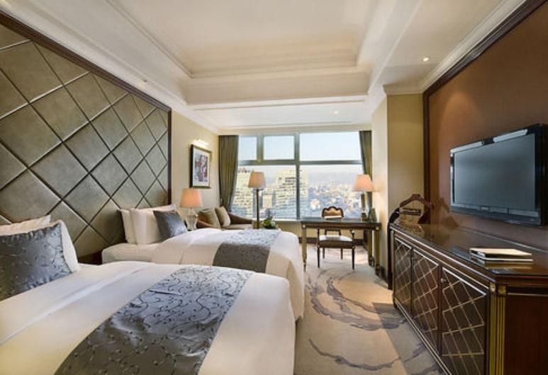 Liaoning International Hotel, Pekín, Habitación superior con 2 camas individuales, Sala de estar