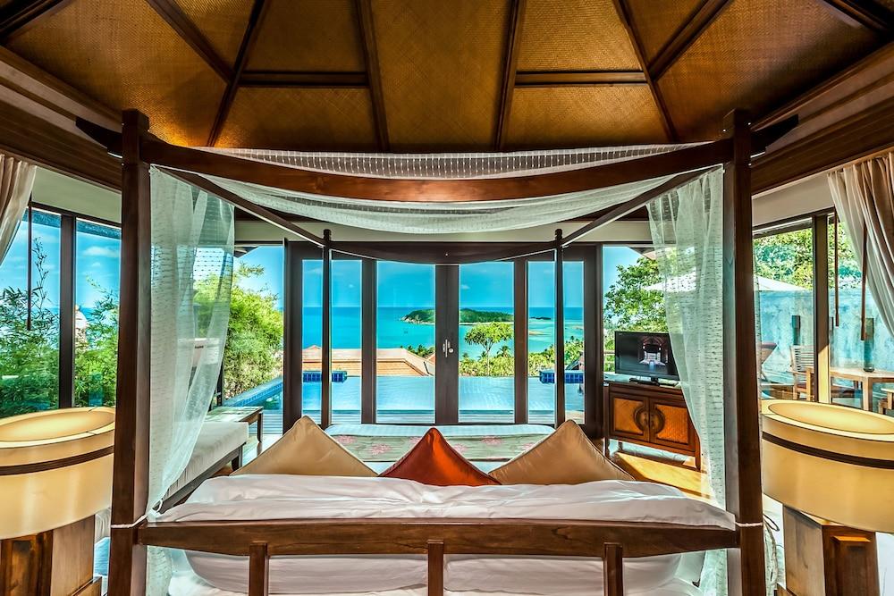 Nora Buri Resort & Spa, Koh Samui, Pool Villa Hillside Seaview (Adult Only), Gjesterom