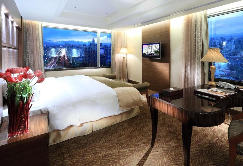 台北花園大酒店, 台北市, 花園套房1 張大床, 客房
