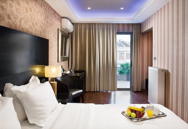Areos Hotel, Athén, Lakosztály, Vendégszoba