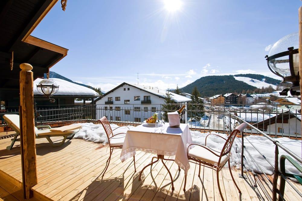 Suite Junior, balcon, vue montagne - Terrasse/Patio
