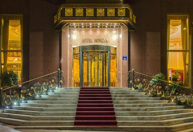 Hotel Moskva, Belgrad, Hoteleingang