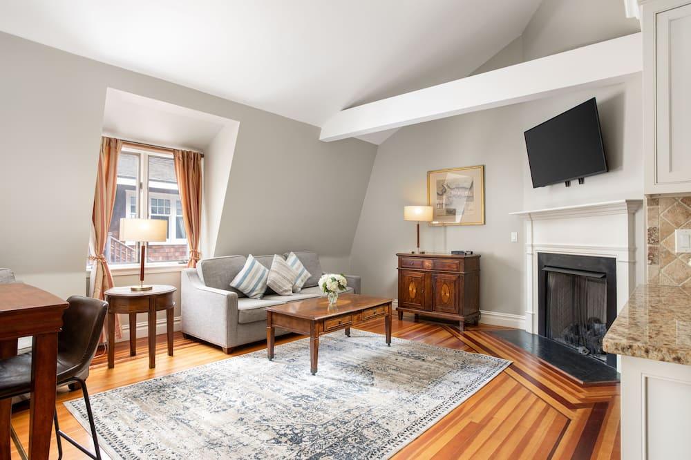 Luxury Suite, 1 Bedroom - Living Area
