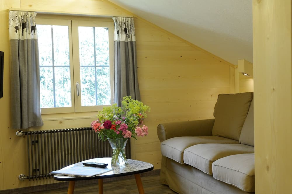 Deluxe Double Room, Mountain View - Living Area