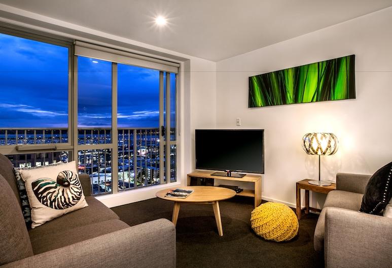 Barclay Suites, Окленд, Люкс, Зона гостиной