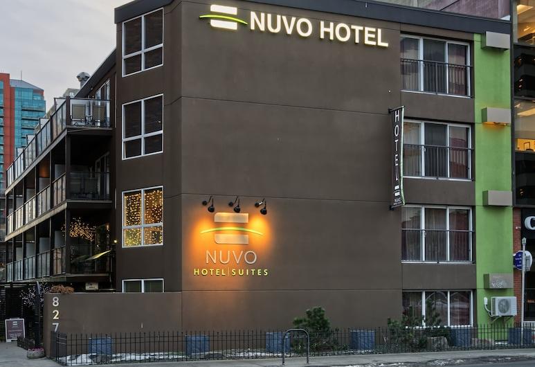 Nuvo Hotel Suites, Calgary, Vista frontal de la propiedad