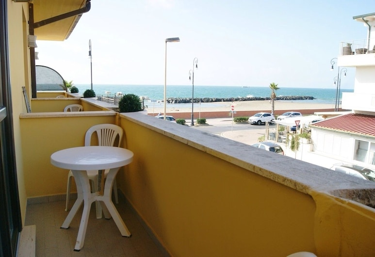Hotel Del Mare, Fiumicino, Kamar Double Standar, balkon, Balkon