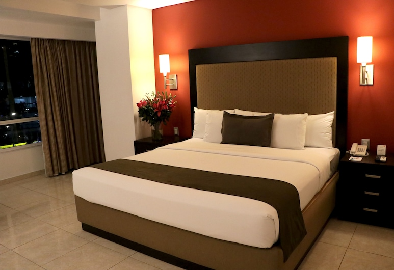 Hotel & Suites PF, Mexico City, Pokój Deluxe, Łóżko king, Pokój