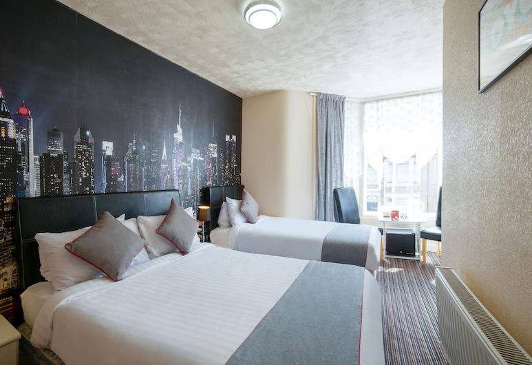 OYO The Beverley Hotel, Blackpool, Habitación familiar, Varias camas, Habitación
