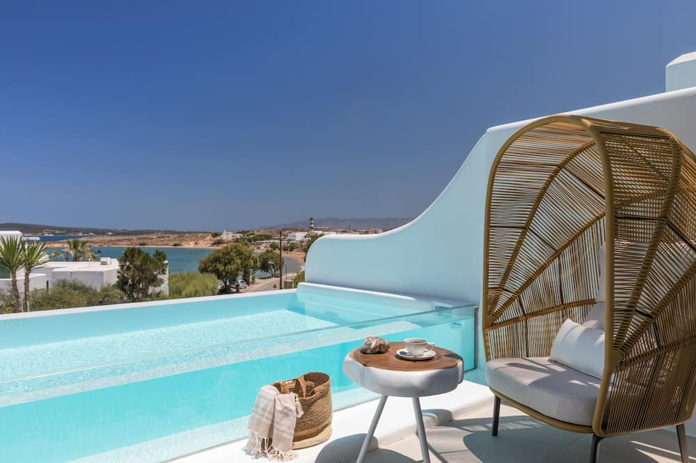 Sea View Junior Suite, Private Infinity Pool (Heated) - Vybraná fotografia