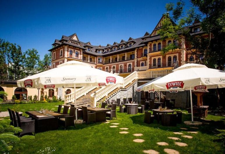 Grand Hotel Stamary Wellness & Spa, Zakopane, Terrace/Patio