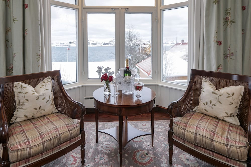 Superior Double Room Sea View - Opholdsområde