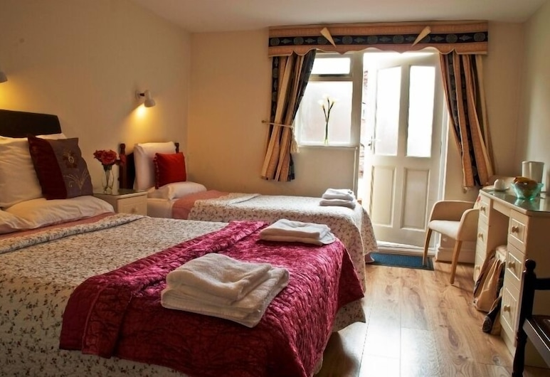 P & J Hotel, Nottingham, Tomannsrom, 2 enkeltsenger, eget bad, Gjesterom