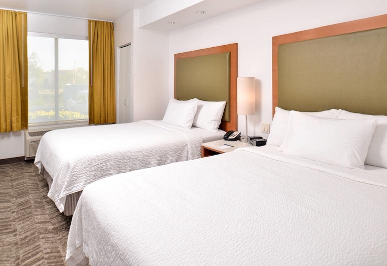 SpringHill Suites by Marriott Roseville, רוזוויל, סטודיו, 2 מיטות קווין, ללא עישון, חדר אורחים