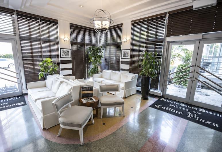 Riviera Suites South Beach, a South Beach Group Hotel, Miami Beach, Lobby Sitting Area