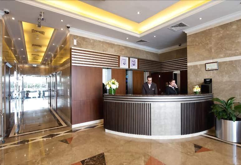 TIME Crystal Hotel Apartments, Dubajus, Registratūra
