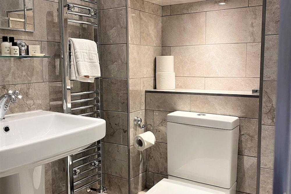 Deluxe-Doppelzimmer, Gartenblick - Badezimmer