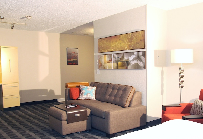 TownePlace Suites by Marriott Albany Downtown/Medical Center, Olbanis, Studija, 1 didelė dvigulė lova, Nerūkantiesiems, Kambarys