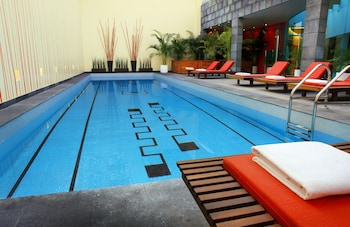 Fotografia hotela (Mexico City Marriott Reforma Hotel) v meste Mexiko  City