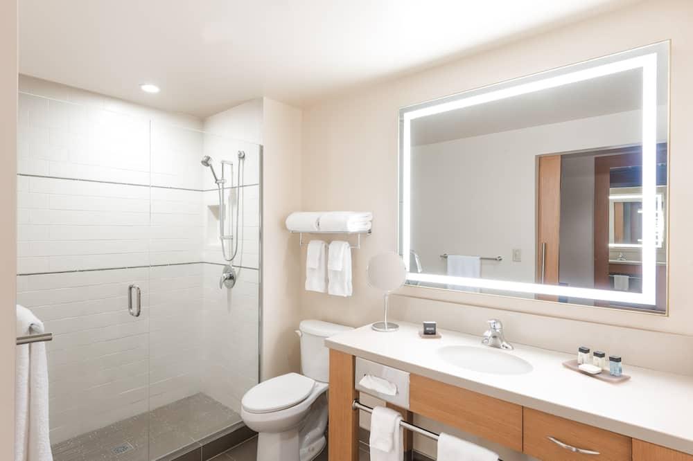 豪華客房, 1 張特大雙人床, 露台 - 浴室