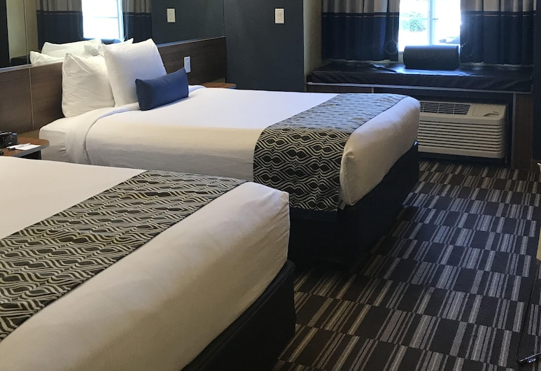 Microtel Inn & Suites by Wyndham Columbus/Near Fort Benning, Columbus, Room, 2 Queen Beds, Non Smoking, Guest Room
