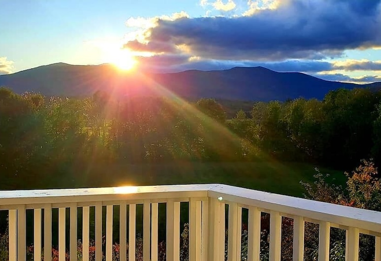 North Conway Mountain Inn, North Conway, Blick vom Hotel